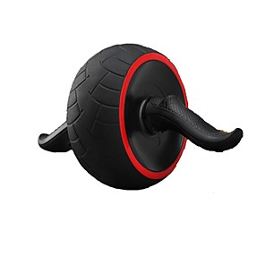 cheap Fitness Gear & Accessories-Ab Wheel Roller With Form Fit, Simple, Life Rubber, Steel, Alloy For Exercise & Fitness