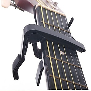 cheap Instrument Accessories-Guitar Capo Aluminium Alloy Acoustic Guitar Ukulele Electric Guitar Lightweight String Instrument for Acoustic and Electric Guitars Musical Instrument Accessories 1 pcs