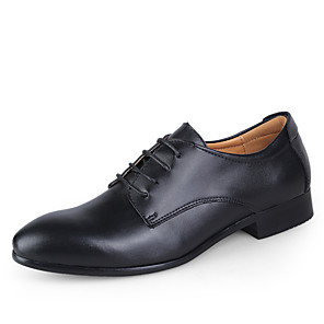 cheap Men's Oxfords-Men's Dress Shoes Derby Shoes Spring / Fall Business / Classic Daily Party & Evening Office & Career Oxfords Leather Wear Proof Blue / White / Black / Lace-up / EU40