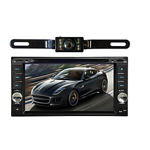 cheap Car DVD Players-7 inch 2 DIN Built-in Bluetooth / Volume Control / Memory Storage for universal / Toyota Support / 3D Interface / Sounds / Multi-function / SD / USB Support / Mp3