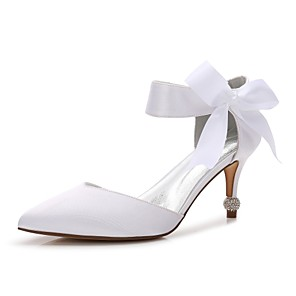 6767989d0a77 Women s Shoes Satin Spring Summer Comfort D Orsay   Two-Piece Basic Pump  Ankle