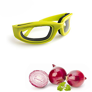 cheap novelty kitchen tools-Onion Goggles BBQ Safety Avoid Tears Protect Eyes Cut Onion Glasses