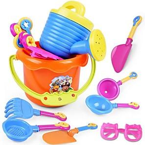 cheap Beach & Sand Toys-Beach Toy Beach Sand Toys Set Water Toys 9 pcs Plastics Fun Holiday For Kid's Adults'