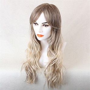 cheap Video Door Phone Systems-Human Hair Capless Wigs Human Hair Wavy Short Hairstyles 2019 Ombre Hair Ombre Long Machine Made Wig Women's