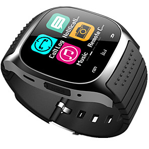 cheap Smartwatches-M26 Kid Smart Watch BT 4.0 Cheap Fitness Tracker Support Notify & Heart Rate Monitor Compatible SAMSUNG/SONY Android Phones & Apple