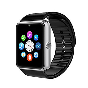 cheap Video Door Phone Systems-YYGT08 Men Smartwatch Android iOS Bluetooth Sports Touch Screen Calories Burned Long Standby Hands-Free Calls Call Reminder Activity Tracker Sleep Tracker Sedentary Reminder Find My Device / 0.3 MP