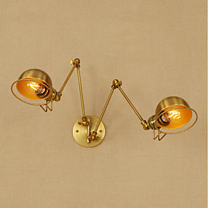 cheap Indoor Wall Lights-Retro / Modern / Contemporary Swing Arm Lights Metal Wall Light 110-120V / 220-240V 8W