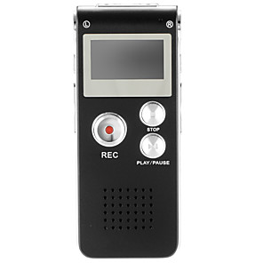 cheap Radio-N28 Rechargeable 8GB Digital Audio Voice Recorder Dictaphone Telephone MP3 Player ET recorder player