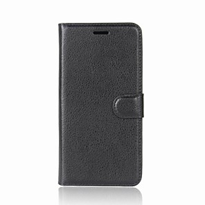 cheap Other Phone Case-Case For Wiko Wiko Wim lite / Wiko Wim / Wiko View XL Wallet / Card Holder / with Stand Full Body Cases Solid Colored Hard PU Leather