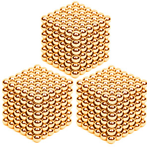 cheap Car Charger-3 pcs 3mm Magnet Toy Magnetic Balls Building Blocks Super Strong Rare-Earth Magnets Neodymium Magnet Puzzle Cube Stress and Anxiety Relief Office Desk Toys Relieves ADD, ADHD, Anxiety, Autism