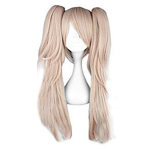 cheap Anime Costumes-Dangan Ronpa Junko Enoshima Cosplay Wigs Women's 26 inch Heat Resistant Fiber Anime