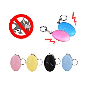cheap Office Supplies & Decorations-Self Defense Keychain Alarm Girl Women  Security Protect Alert Personal Safety Scream Loud Ramdon Color