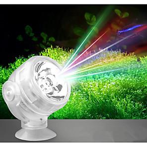 cheap Pumps & Filters-Aquarium LED Light White / Red / Blue LED Lamp 220 V V Plastic