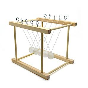 cheap Men's Oxfords-Kinetic Orbital Newton Cradle Balance Ball Educational Toy Novelty School / Graduation Friends School Handmade Kids Wooden 1 pcs Classic DIY New Year's Kid's Adults' Toy Gift / New Design