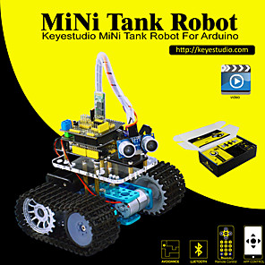 cheap Car Charger-Keyestudio DIY Mini Tank Smart Robot Car Kit for Arduino Robot Starter  ManualPDF Installation VideoDemo Video5 Projects
