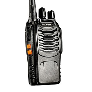 cheap TV Boxes-BAOFENG BF-888S UHF FM Transceiver High Illumination Flashlight Walkie Talkie Two Way Radio Intercom 16CH Handheld Radio Built in LED Torch Microphone Super Sound Quality