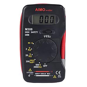 Недорогие Цифровые мультиметры и осциллографы-прицел m300 2000 имеет тонкую форму, все в одном разработанном портативном цифровом мультиметре