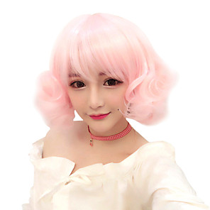 cheap Costume Wigs-Lolita Cosplay Wigs Women's Girls' 30 inch Heat Resistant Fiber Anime Wig