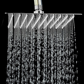 cheap Rain Shower-Contemporary Rain Shower Chrome Feature - Rainfall, Shower Head