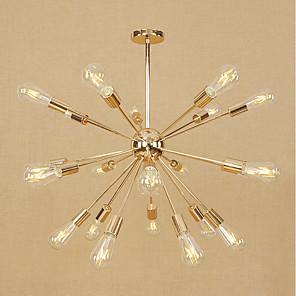 cheap Pendant Lights-67 cm Mini Style / Adjustable Chandelier Metal Sputnik Electroplated Modern Contemporary 110-120V / 220-240V