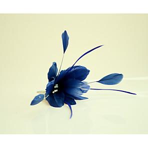 povoljno Šeširi i fascinatori-Umjetno drago kamenje / Perje Kose za kosu / Cvijeće s 1 Vjenčanje / Special Occasion / Konjska utrka Glava