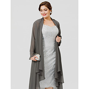 cheap Wedding Wraps-Long Sleeve Coats / Jackets Chiffon Wedding / Party / Evening Women's Wrap With Draping / Solid