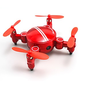 cheap RC Drone Quadcopters & Multi-Rotors-RC Drone SHR / C SH1 200W 4CH 6 Axis 2.4G With HD Camera 720P RC Quadcopter One Key To Auto-Return / Headless Mode / 360°Rolling RC Quadcopter / Remote Controller / Transmmitter / Camera / Hover