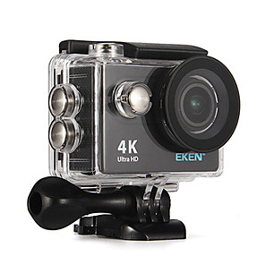 cheap Sports Action Cameras-QQT H9 Gopro Gopro & Accessories Outdoor Recreation vlogging Outdoor / High Definition / Portable 32 GB 30fps 8 mp / 6 mp / 12 mp No 1280x960 Pixel 2 inch CMOS H.264 Single Shot / Time-lapse 30 m -1/3