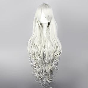 cheap Synthetic Trendy Wigs-Black Butler Queen Victoria Cosplay Wigs Women's 36 inch Heat Resistant Fiber Anime Wig