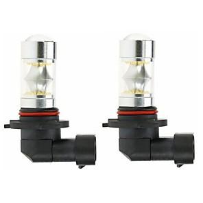cheap Car Fog Lights-2pcs 9005 Car Light Bulbs 100W SMD 5050 3000lm LED Light Bulbs Fog Light