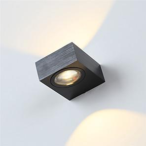 cheap Indoor Wall Lights-Modern 6W LED Wall Sconce Indoor Hallway Up Down Spot Light Aluminum Decorative Lighting