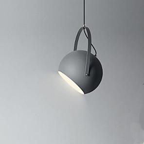 cheap Pendant Lights-1-Light 20 cm Pendant Light Metal Bowl Painted Finishes Modern Contemporary 110-120V / 220-240V