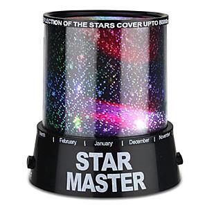 voordelige Decoratie & Nachtlampje-Sterrenhemel nachtlamp Sterrenlicht LED-verlichting Star Light-projector Kleurrijke schemering Muovi ABS Jongens Speeltjes Geschenk