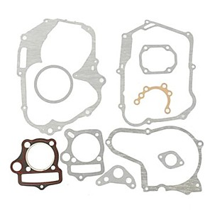 cheap Fuel Systems-Universal Motocross Horizonal 125cc Engine Gaskets Kits For Loncin Dirt Pit Bike ATV