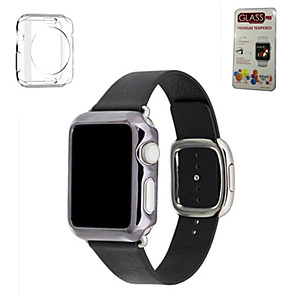 cheap Portable Speakers-Watch Band for Apple Watch Series 5/4/3/2/1 Apple Modern Buckle Genuine Leather Wrist Strap