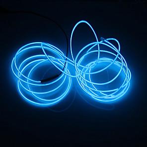 cheap Neon LED Lights-1 pc 5M Light String White Light Red Light Blue Light Green Light Pink Light