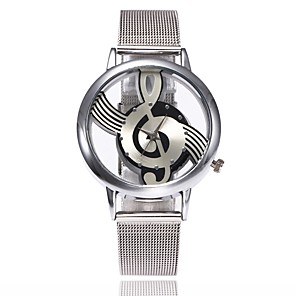 cheap Quartz Watches-Women's Wrist Watch Quartz Silver Casual Watch Analog Ladies Luxury Casual Fashion Dress Watch - Silver One Year Battery Life
