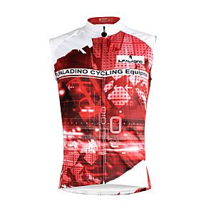 cheap Cycling Jersey & Shorts / Pants Sets-ILPALADINO Men's Sleeveless Cycling Jersey Dark Pink Rainbow Bike Vest / Gilet Jersey Tank Top Mountain Bike MTB Road Bike Cycling Quick Dry Sports Clothing Apparel / Stretchy