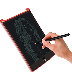 cheap RC Cars-8.5 Inch Digital LCD Writing Tablet High-Definition Brushes Handwriting Board Portable No radiatio