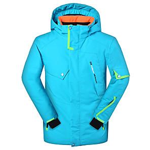 cheap Flashlights & Camping Lanterns-Phibee Boys' Ski Jacket Skiing Ski / Snowboard Snowsports Windproof UV Resistant Warm Polyester Eco-friendly Polyester Jacket Ski Wear / Winter