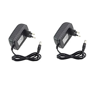 cheap Power Supply-2pcs 12 V US EU ABS+PC Power Adapter for LED Strip light