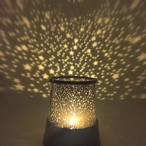 voordelige Decoratie & Nachtlampje-sterrennacht projectorlamp staycation sterlicht led-verlichting ster melkweg plastic decoratief creatief cadeau