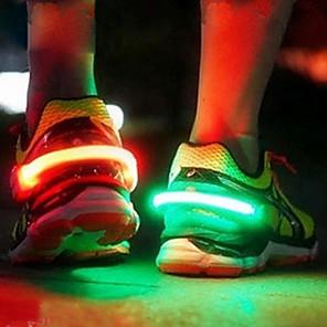 cheap Stuffed Animals-LED Luminous Shoe Clip Light Night Warning Safety Cycling Bike Running Sports Drop Shipping Drop ship