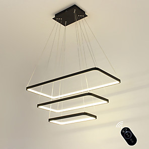 cheap Circle Design-Ecolight™ 40 cm Dimmable Pendant Light Linear 110-120V / 220-240V