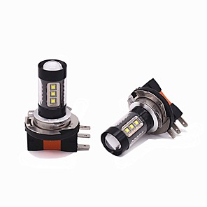 cheap Car Headlights-2PCS 80W 8000LM H15 LED DRL Function LED Bulb High beam Headlamp For Universal universal Universal car light