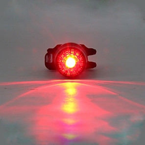 cheap Bike Lights & Reflectors-LED Bike Light Rear Bike Tail Light Safety Light LED Mountain Bike MTB Bicycle Cycling Waterproof Multiple Modes Portable Warning Lithium USB 180 lm Built-in Li-Battery Powered Red Camping / Hiking