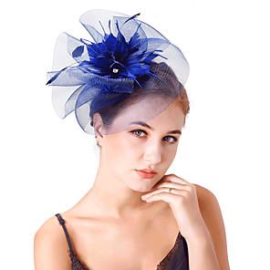 povoljno Šeširi i fascinatori-Til / Perje / Net Fascinators / Cvijeće / Headpiece s 1 Vjenčanje / Zabava / večer Glava