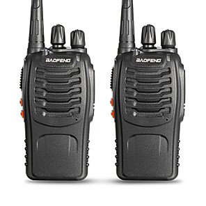 cheap iPhone Cases-BAOFENG 2 Pcs BF-888S Handheld Low Battery Warning / PC Software Programmable / Voice Prompt 3KM-5KM 3KM-5KM 5 W Walkie Talkie Two Way Radio / 400-470MHz / VOX / Time Out Timer / Busy Channel Lockout