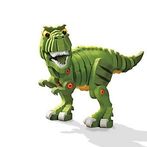 cheap Building Blocks-Building Blocks Interlocking Blocks DIY Dinosaur Tyrannosaurus Rex Animal EVA 63-104 pcs Kid's Boys' Girls' Toy Gift