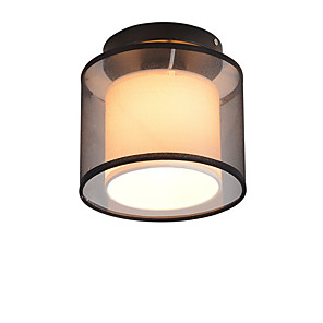 cheap Flush Mounts & Semi Flush Mounts-1-Light Hot Sale Mini Modern Simple Ceiling Lamp Flush Mount Lights Entry Hallway Game Room Kitchen Light Fixture